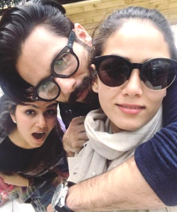Doting daddy Shahid Kapoor's playtime with daughter Misha