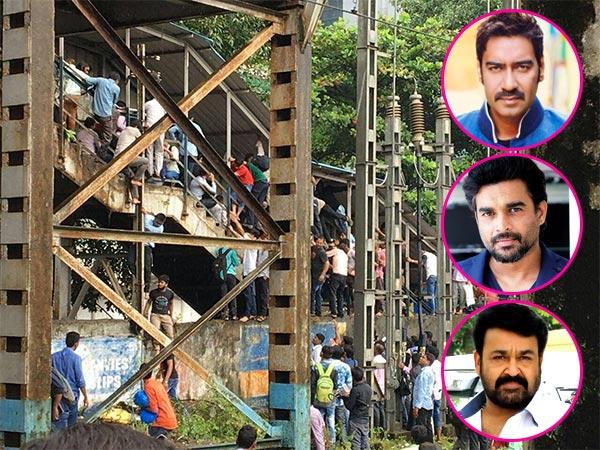 22 dead in stampede on foot overbridge in Mumbai