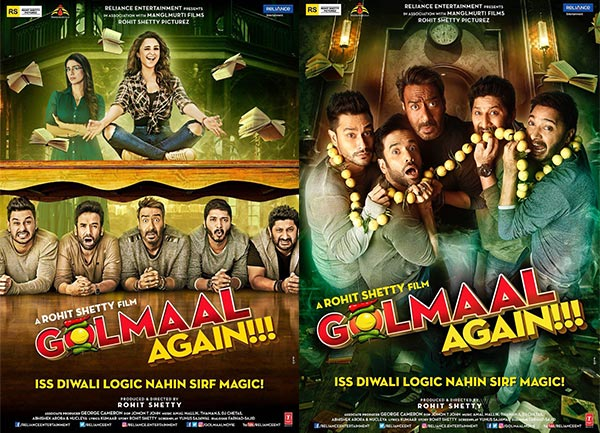 Image result for New posters of Golmaal Again OUT, trailer to release today