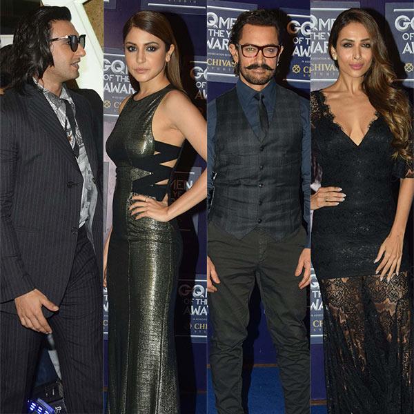 Ranveer Singh, Aamir Khan, Jacqueline steal the show at GQ Awards 2017