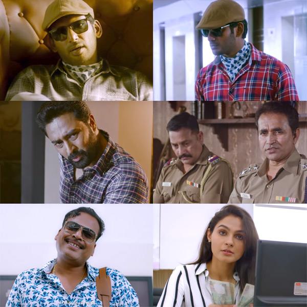 Avatar Cast Members: Thupparivaalan Trailer: Vishal's Quirky Detective Avatar