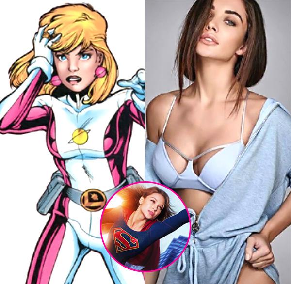 Supergirl Adds Legion of Super-Heroes' Saturn Girl for Season 3