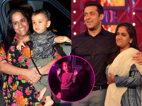 Ahil's presence at Da Bangg tour brought back a sweet memory for Salman Khan – watch videos
