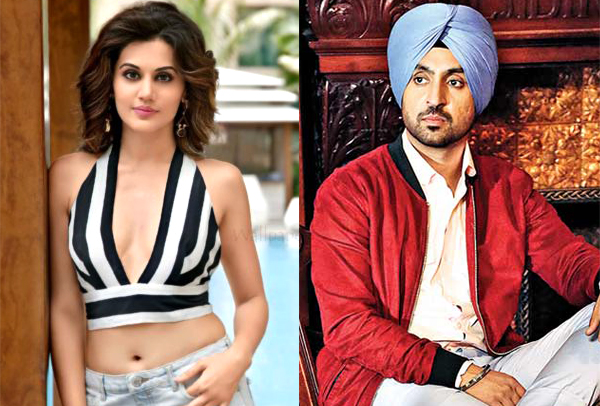 Image result for taapsee diljit