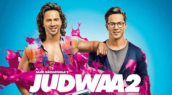 Jacqueline Fernandez marks a hattrick with Dhawan trio in Judwaa 2