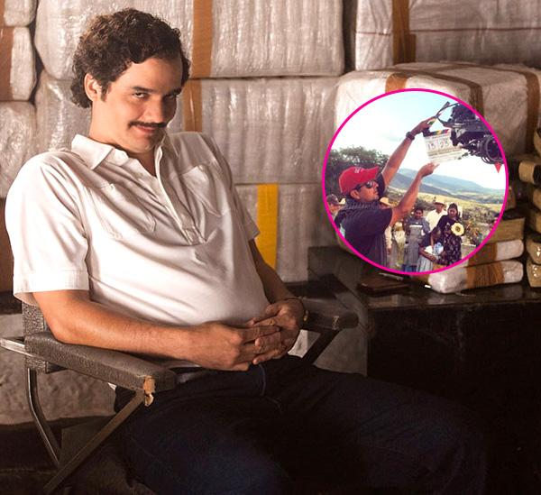 Narcos location manager Carlos Portal