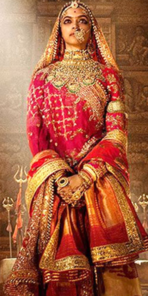 Check out the first poster of Deepika Padukone as the Queen Padmavati