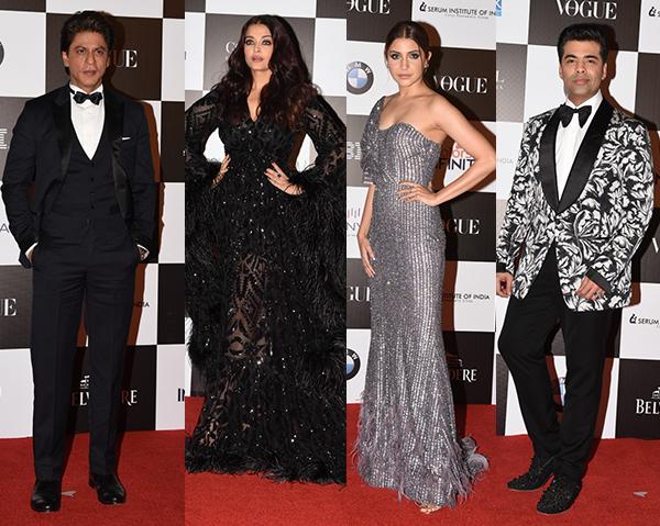bollywoodlife.com - Soumyata Chauhan - Vogue Women Of The Year 2017 Red Carpet: Shah Rukh Khan, Aishwarya Rai Bachchan, Karan Johar, Anushka Sharma glam up the night - View HQ Pics