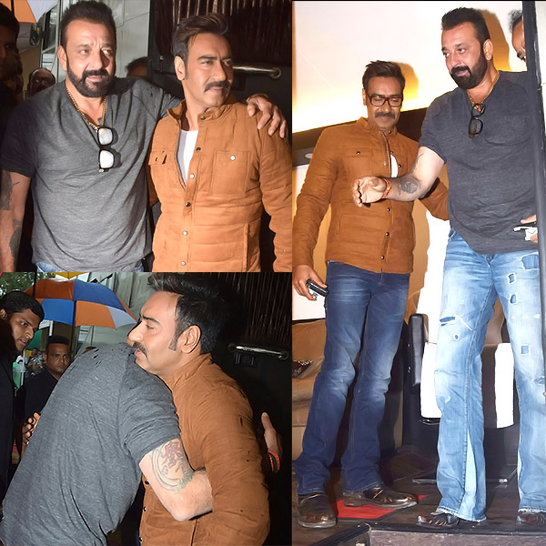 Don T Know About Patching Up With Salman Khan But Sanjay Dutt Is Having Whale Of A Time With