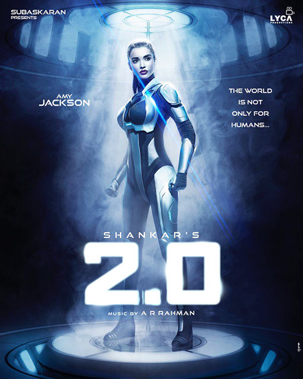 2.0 First Look: Amy Jackson is a sexy droid in the ...