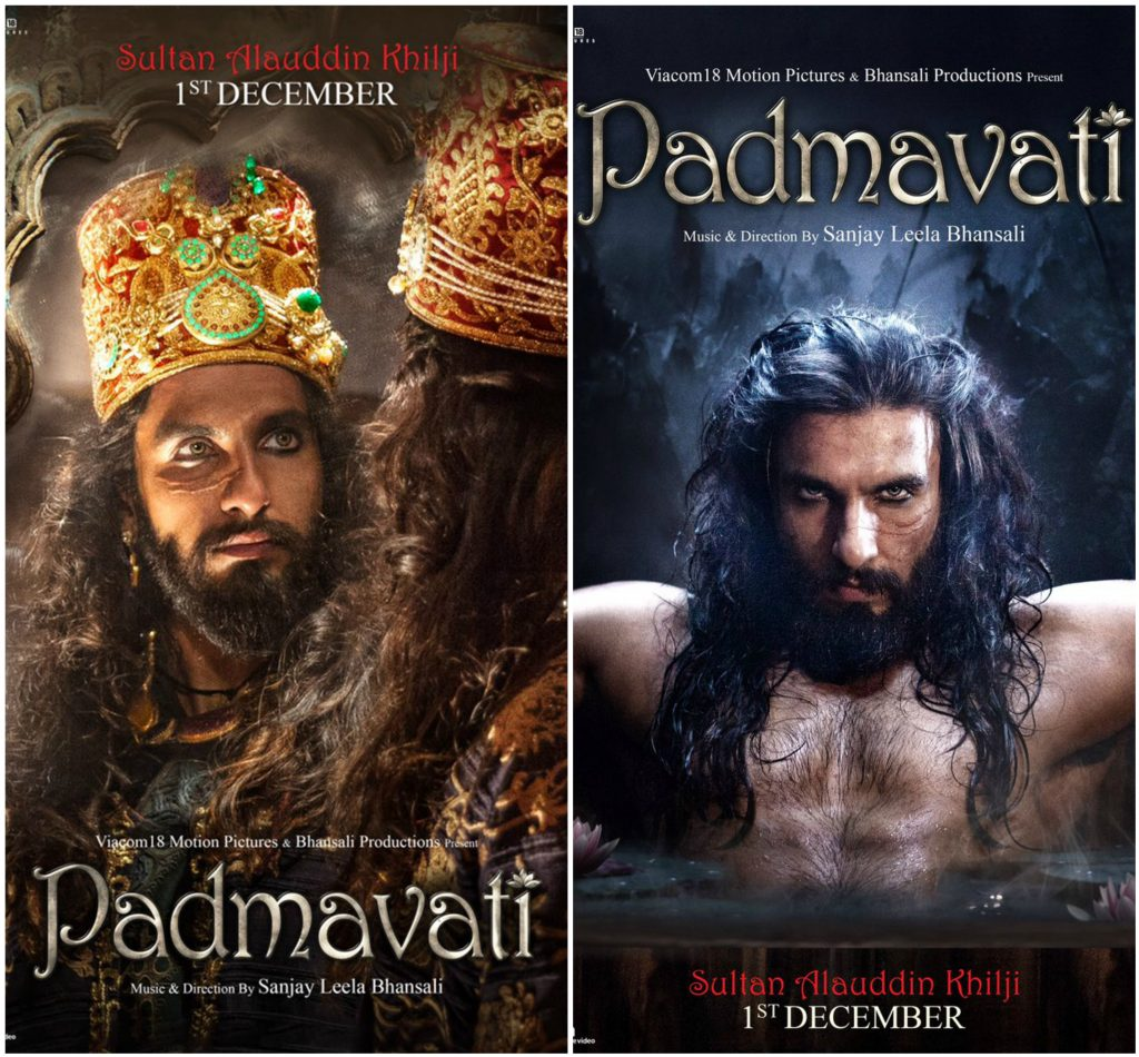 Image result for Sultan Alauddin Khilji look from 'Padmavati' is so dreadful!