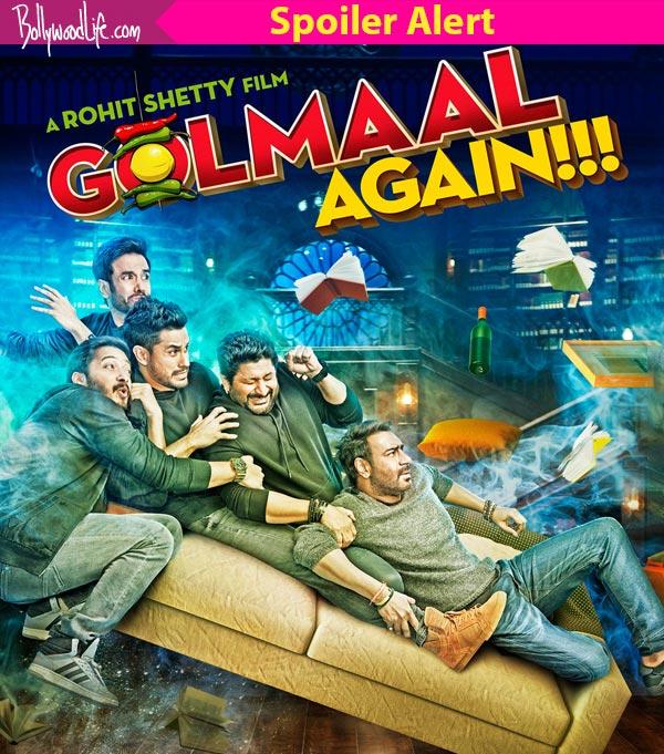 Golmaal Again: 5 scenes in Ajay Devgn and Parineeti Chopra's ghost comedy that won't fail to tickle your funny bone