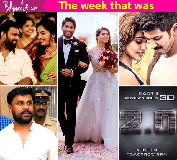 Top 5 Viral News Of The Week: Naga Chaitanya's Wedding, Dileep Granted Bail