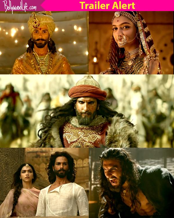 New Avatar Movie Trailer: Padmavati Trailer: Ranveer Singh's Cruel Intensity, Shahid