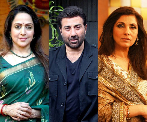 Dimple Kapadia is the reason Hema Malini spoke to Sunny Deol for the first time?