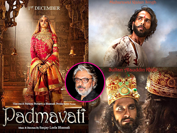 Ranveer Singh, Deepika Padukone shine in first trailer for 'Padmavati'