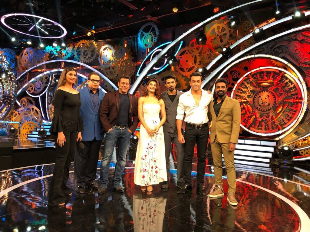 Bigg Boss 11: Salman Khan welcomes Race 3 co-stars, Bobby ...