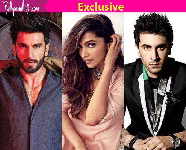 Deepika Padukone, Ranbir Kapoor and Ranveer Singh caught ...