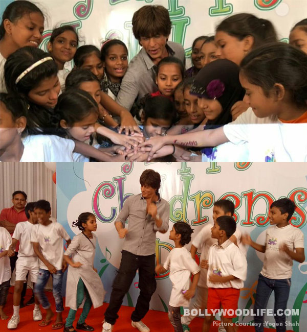Shah Rukh Khan celebrates Children's Day dancing with kids