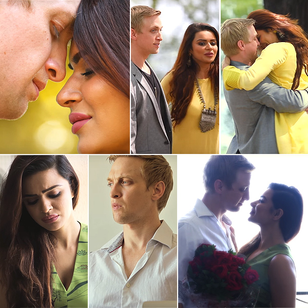 Aashka Goradia And Brent Gobles Pre Wedding Music Video Woh Chilman Se Will Tug At