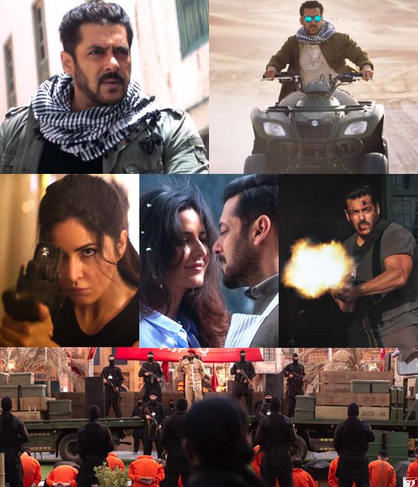 tiger zinda hai trailer 11 moments from salman khan katrina kaif s action flick that