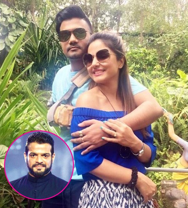 Hina Khan's BF Rocky comes to her rescue as Karan Patel lashes out at her in a tweet