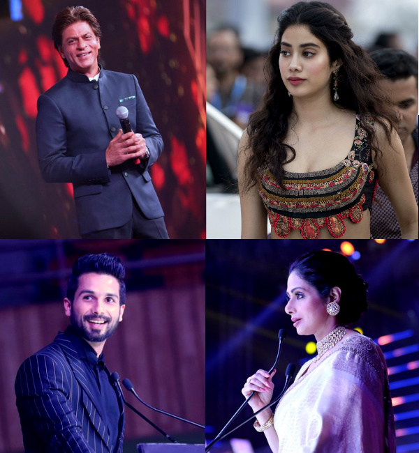 IFFI 2017: Shah Rukh Khan, Shahid Kapoor, Sridevi and Janhvi Kapoor's these CANDID pictures prove the opening ceremony was a gala affair - Bollywoodlife.com