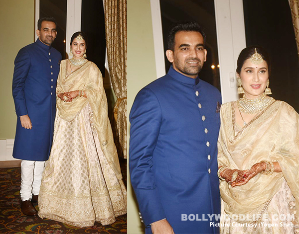 Virat, Anushka, Sachin, Yuvraj attend Zaheer Khan and Sagarika Ghatge's wedding reception