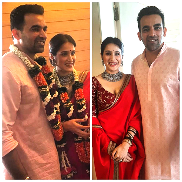 Zaheer Khan Marriage Videos FIRST PICS OUT! Zaheer...
