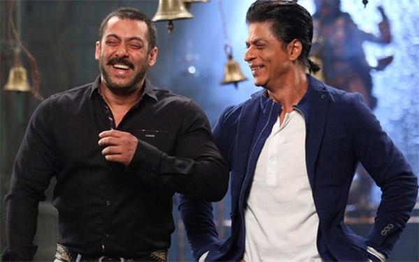 Shah Rukh Khan has a special birthday wish for Salman Khan!