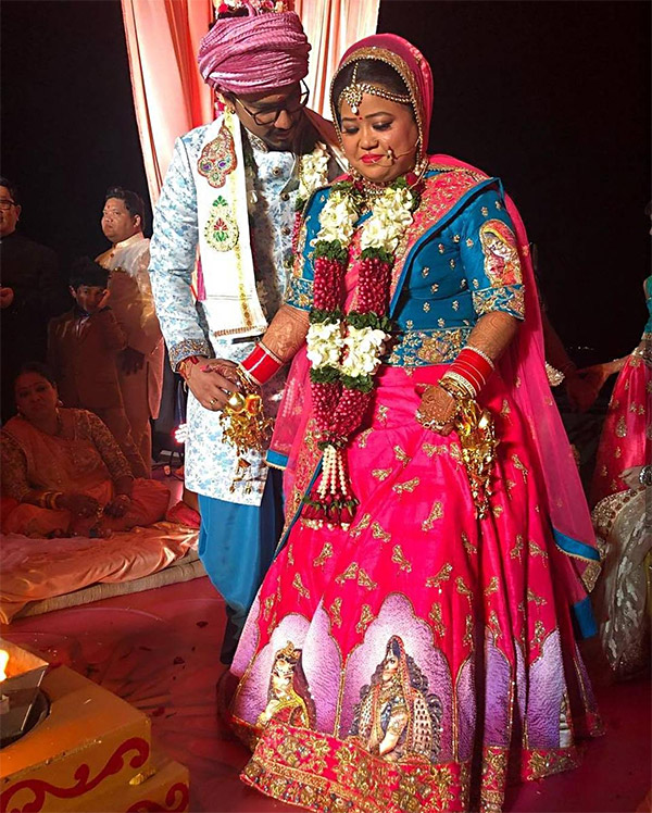 Check Out These Pictures From Bharti Singh And Harsh Limbachiyaa's Sangeet Ceremony!