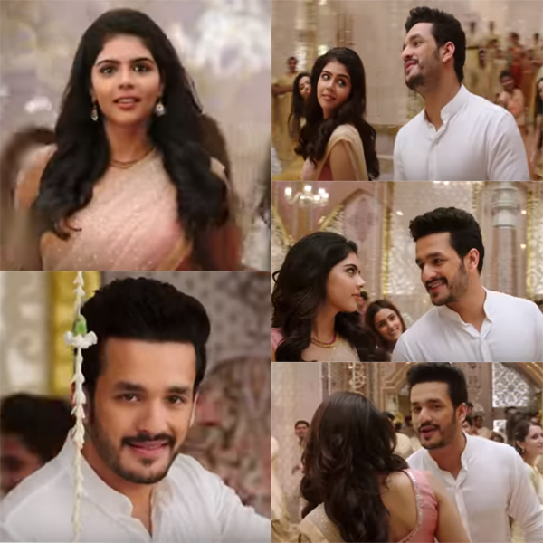 The first single from Akhil Akkineni's Hello is out and it's perfect for this wedding season – watch video