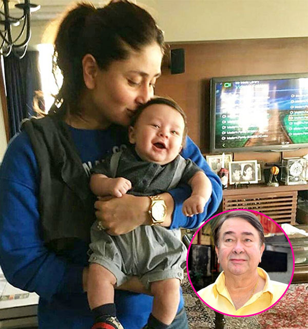 Saifeena celebrate first birthday of Baby nawab Taimur