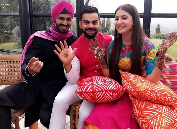 Virat and Anushka get married, photos and videos from the wedding