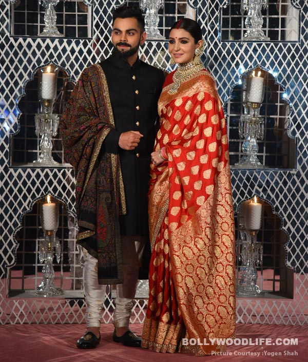 Anushka Sharma and Virat Kohli\'s Delhi reception outfits support a ...
