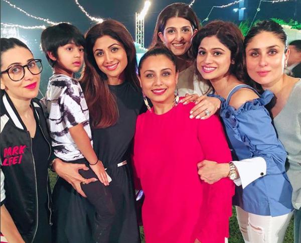 Adira Chopra's star-studded second birthday party