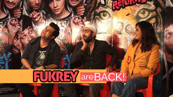 Team Fukrey Returns Excited About Box Office Collection
