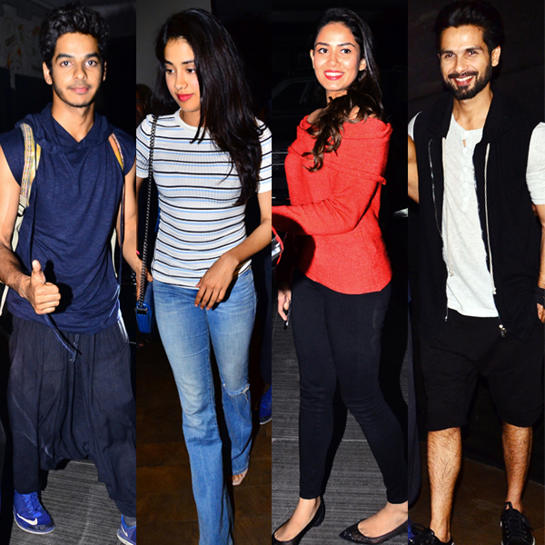 Shahid-Mira's little angel Misha takes dance lessons from granny