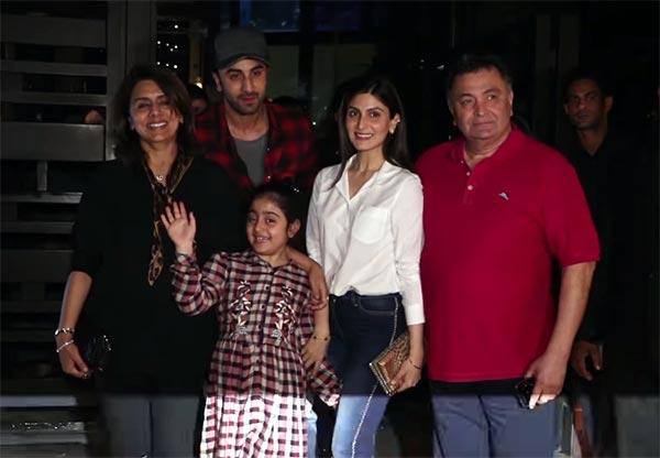 Ranbir Kapoor's bonding with niece Samara is awesome