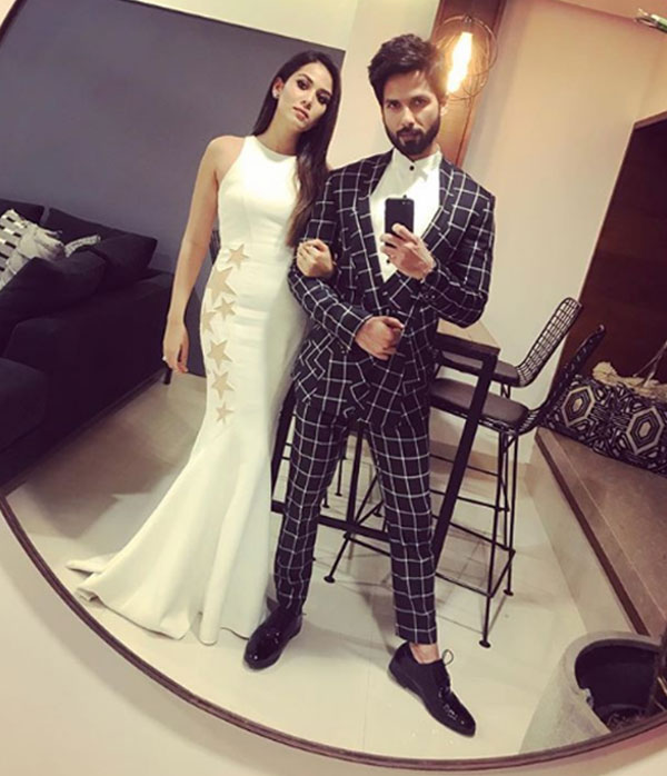 Shahid Kapoor and Mira Rajput exult over Padmaavat