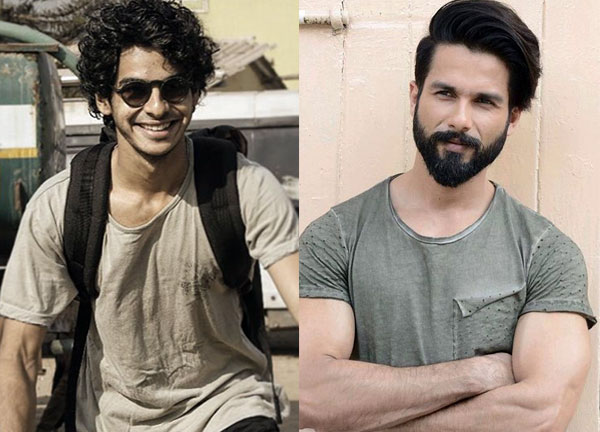 Ishaan Khatter speaks of competition with his brother Shahid Kapoor