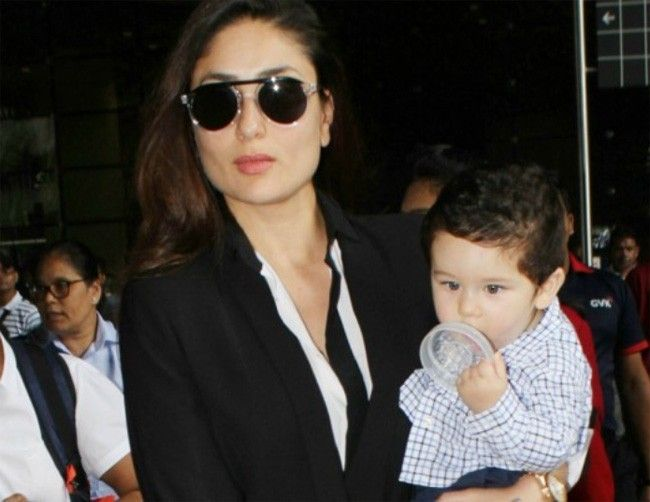 This picture of Taimur Ali Khan trying to comb his hair is way too cute to handle – view pic