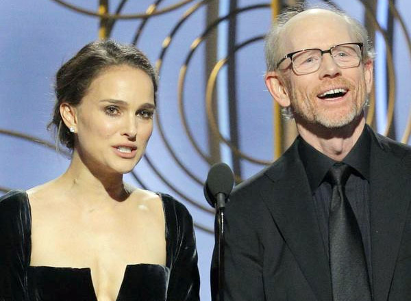 Natalie Portman Calls Out 'All Male' Award Nominees