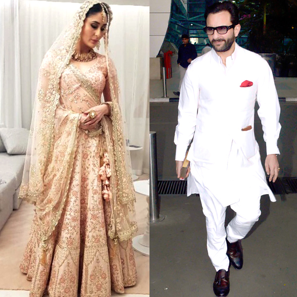 Bride and handsome Kareena Kapoor Khan is the Begum of Bollywood!