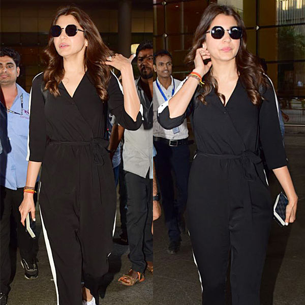 Anushka Sharma means business as she's back in town after her mini vacation with Virat Kohli – view HQ pics