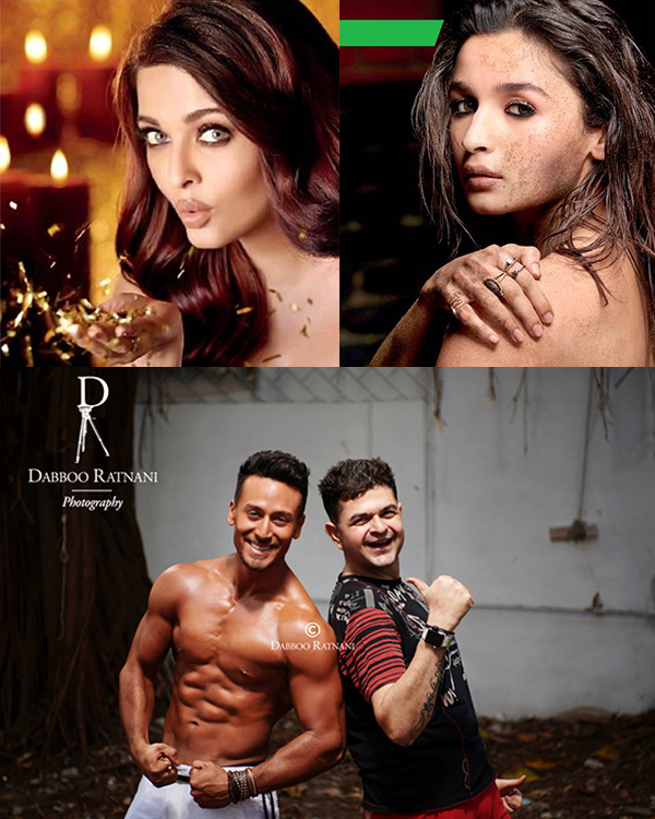 Dabboo Ratnani 2018 Calendar shoot: Aishwarya Rai Bachchan, Alia Bhatt, Tiger Shroff are back to play muse to the photographer