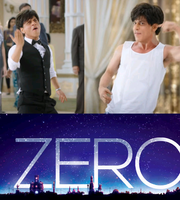 Zero! That's the title of Shah Rukh Khan Katrina Kaif and Anushka Sharma's dwarf film – watch video