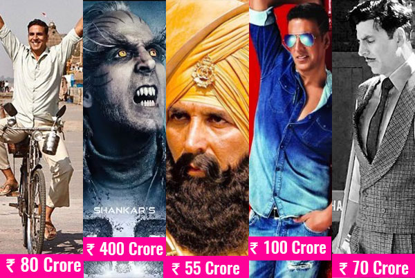 Rs 700 crore! That's the whopping amount of money riding on Akshay Kumar at the box office