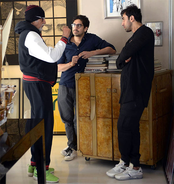PIC ALERT! Ranbir Kapoor And Amitabh Bachchan Start Preparing For Brahmastra
