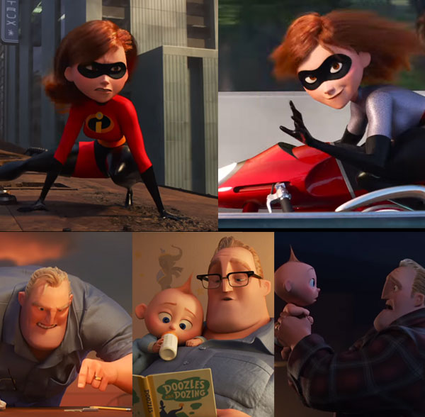 Sneak Peek For The Incredibles 2 Debuts During Winter Olympics